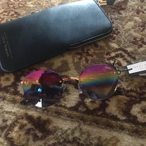 Quay Multi-color Mirrored Farrah Sunglasses
